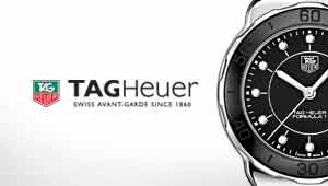 TAG Heuer Watches at Goldsmiths banner
