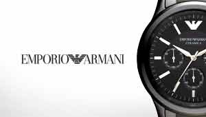 Emporio Armani Watches at Goldsmiths Banner