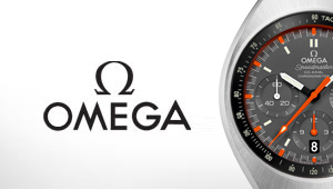 Omega Watches at Goldsmiths banner