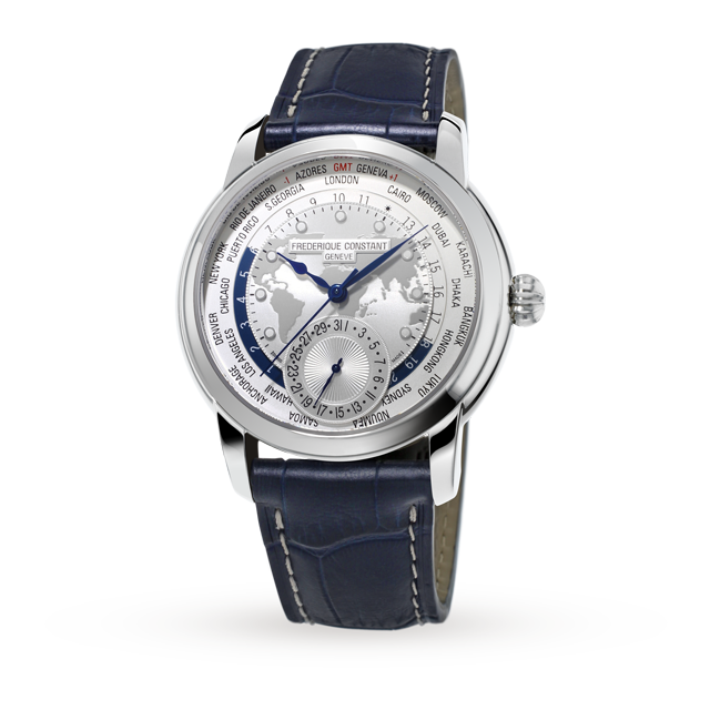 Frederique Constant World Time Mens Watch