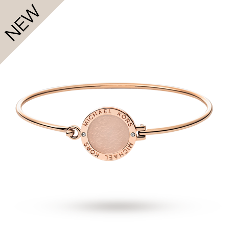michael kors rose gold plated bangle fashion jewellery jewellery goldsmiths. Black Bedroom Furniture Sets. Home Design Ideas